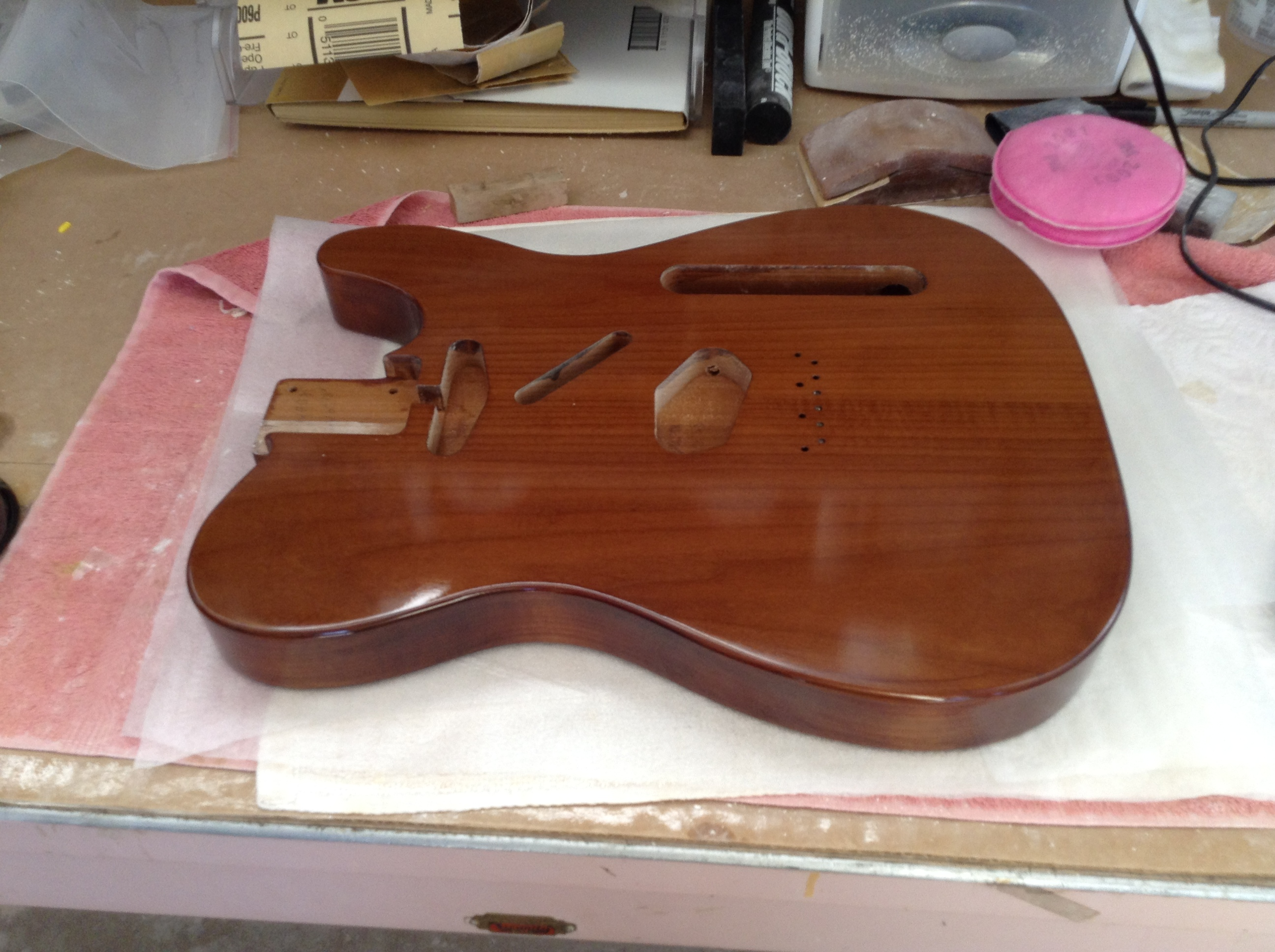 Tempered Basswood Tele